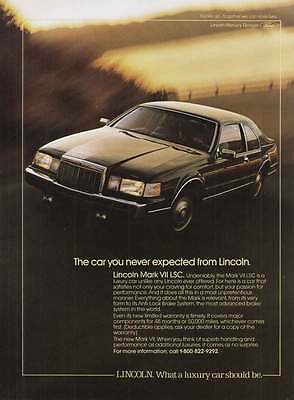 1986 Lincoln Mark VII LSC: Car You Never Expected (11281)