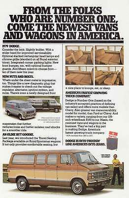1979 Dodge Vans: From the Folks (14711)