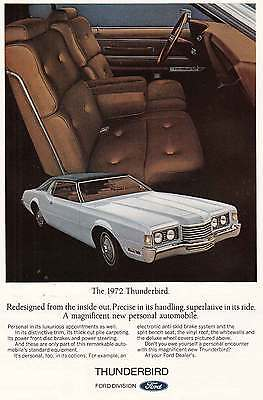 1972 Ford Thunderbird: Redesigned (13085)