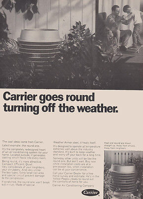1969 Carrier Air Conditioning: Goes Round Turning Off (27390)