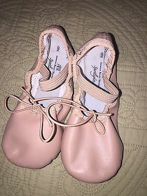 AMERICAN BALLET THEATER SPOTLIGHTS BALLET SHOES  Pink YOUTH SIZE 9