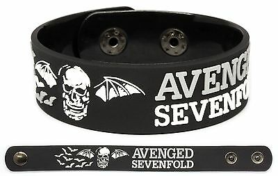 AVENGED SEVENFOLD Rubber Bracelet Wristband A7X The Stage