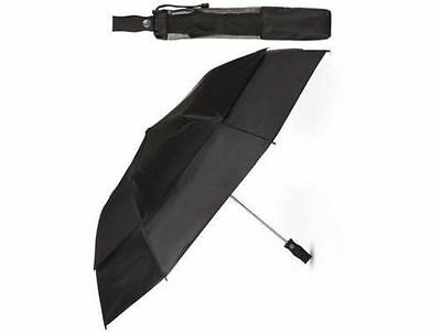 totes umbrella automatic opens X large double vented canopy windproof  NeverWet