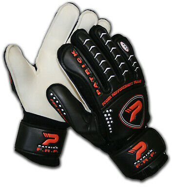 Patrick Spectra Football Goal Keeping Gloves - Black/red - Sizes 7 To 10