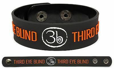 THIRD EYE BLIND Rubber Bracelet Wristband Blue Out of the Vein