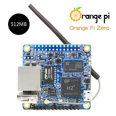 Orange Pi Zero PC Compatible Android Ubuntu 512MB H2 WiFi SBC Replace Raspberry