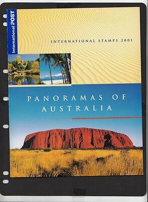 2001 Australian Stamps Post Office Pack - Panoramas of Australia