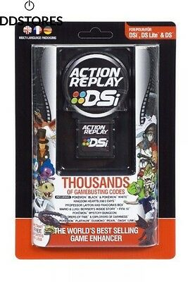 Action Replay Cheat engine DSi DS Lite