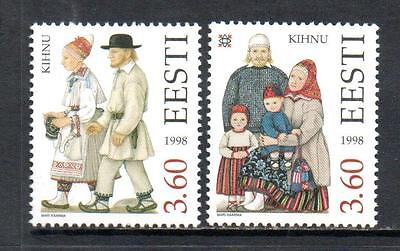 Estonia Mnh 1998 Sg319-320 Costumes (Series 5)