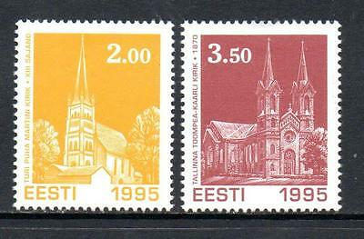Estonia Mnh 1995 Sg271-272 Christmas