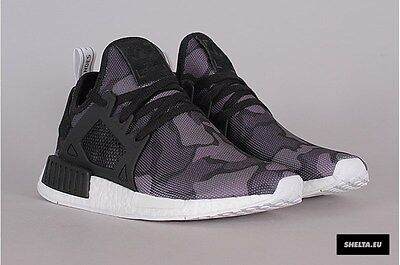 0c894681496f3 Adidas NMD XR1 Nomad White Duck Camo BA7233 Size 7.5 13 New