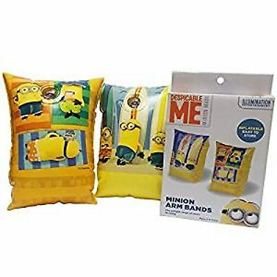 Despicable Me Minions Inflatable Swimming Beach Armbands Arm Bands LILO