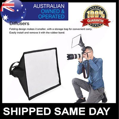 Flash Foldable Diffuser Softbox For Canon Camera Speedlite Yongnuo Light OP