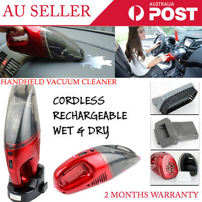 New Cordless Hand Rechargeable Handheld Vacuums Portable Cleaner Home Car Room