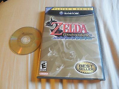 Legend of Zelda: The Wind Waker (Nintendo GameCube, 2003) No Manual