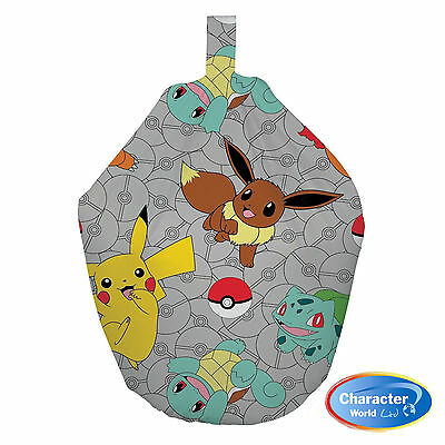 Pokemon 'Gotta Catch Em All' Fully Filled Bean Bag Official Merchandise