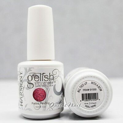 Gelish Harmony Soak Off Gel ALL TIED UP ... WITH A BOW 01550 HOLIDAY COLLECTION