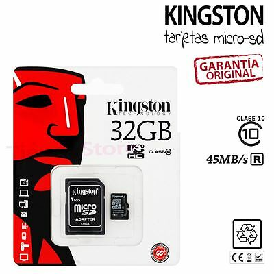 Tarjeta de Memoria Kingston micro SD 32Gb Class 10 32 GB