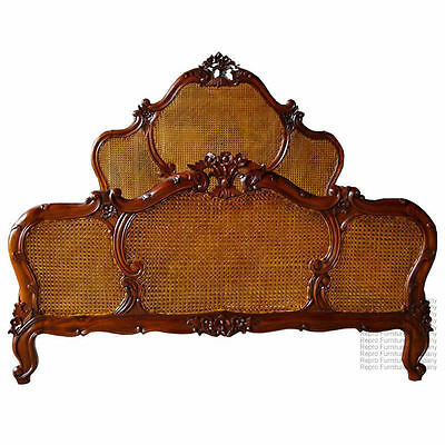 French Bed - King Size - 5ft - Mahogany - New - In Stock