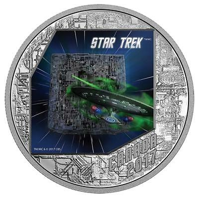Kanada 20 Dollar 2017 - Star Trek The Borg The Next Generation - 1 Oz Silber PP