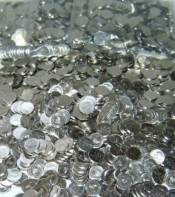 100  Stainless Super Tokens For Your Pachislo Skill Slot Machine +Newly Minted+