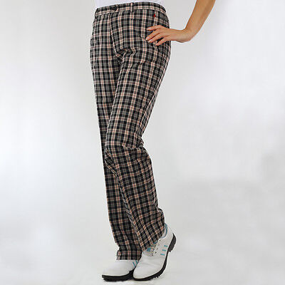 NEW Green Lamb Ladies Lined Check Trousers Winter Pants Warm Womens Golf