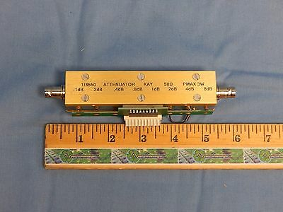 Kay Model 1/4550 Programmable Variable Attenuator 4550