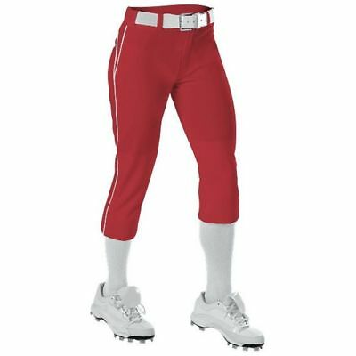 Alleson Girls' Belted Fastpitch Pant