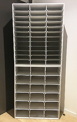 Used Fellowes Literature Sorter 54 Compartment Document Storage