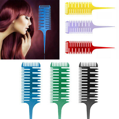 Smart 3-Way Sectioning Weave Highlight Highlighting Salon Hair Comb New