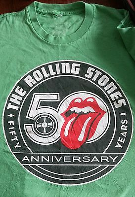 The Rolling Stones 50th Anniversary Tongue T-Shirt