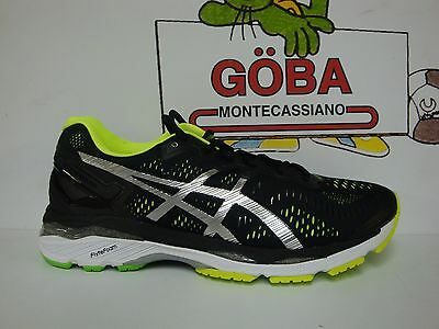 ASICS GEL KAYANO 23 MEN'S black/silver/safety yellow