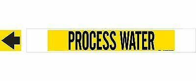 Brady 5746-Hphv High Performance  High Visibility Pipe Marker PROCESS WATER