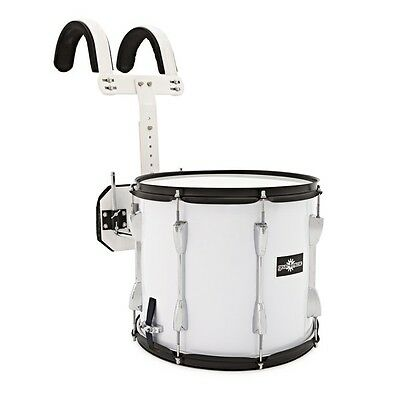 14'' X 12'' Marching Snare Drum with Carrier by Gear4music