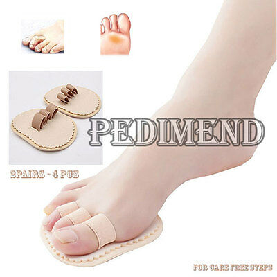 PEDIMEND Effective Triple Toes Straightener Hammer Crooked Overlapping Toe