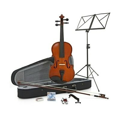 Student Plus 1/2 Violin + Accessory Pack by Gear4music