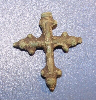 ANCIENT CROSS 9 - 12 centuries Kievan Rus. BRONZE. ORIGINAL