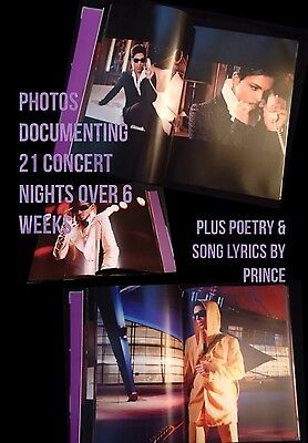 PRINCE 21 NIGHTS Photo Art Coffee Table BOOK London 06 NEW Purple Rain 3121 1999