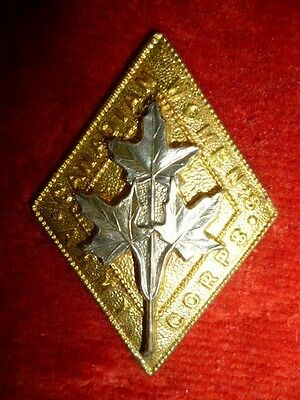 Canadian Women's Army Corps (C.W.A.C.) Cap Badge, WW2 era