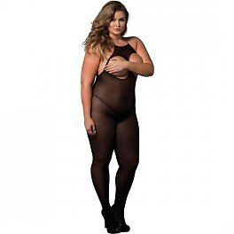 Leg Avenue-Costume da 89171Q Plus, 18 e 22, colore: nero opaco con cavezza Lush