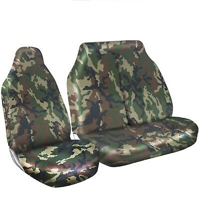 Ford Transit 2007 Heavy Duty Green Camo Van Seat Covers