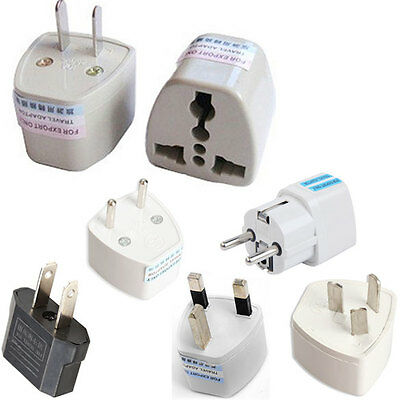 Universal Travel Europe AC Wall Power Adapter CN US UK AU Plug Socket Converter