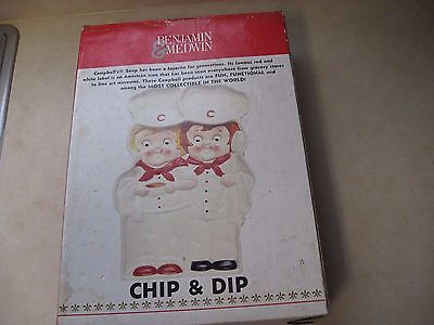 Campbell's Soup Campbell Collectible Benjamin & Medwin Chip & Dip