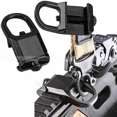Sling Mount Plate Adaptor Attachment fit 20mm Picatinny Rail Adapter Easy to Use