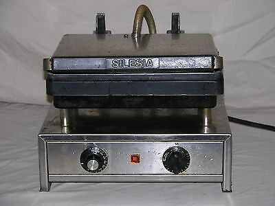 Silesia Velox T-1 Contact Grill 240V 15A Commerical Restaurant Professional