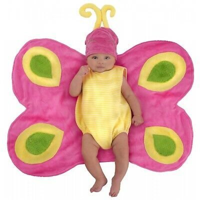 Baby Butterfly Costume Newborn Girls Swaddle Outfit Halloween Caterpillar