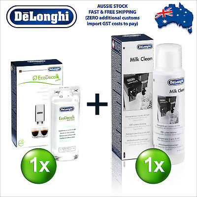 Delonghi EcoDecalk Eco Decalk Descaler Cleaner Cleaning Coffee Machine M-Kit