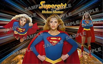 Supergirl / Helen Slater Fan Made Poster print 11 X 17