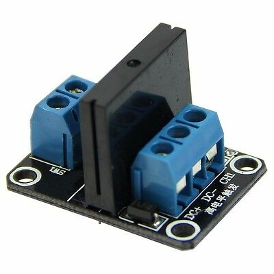 5V 1 Channel High Level Solid State Relay Module DC Control AC 2A 240V With Fuse