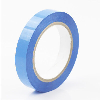 No Tube Tubeless Rim Tape for MTB Road Bike 19mm  x 50 Meter Blue Bulk Roll